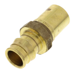 """3/4"""" ProPEX x 3/4"""" Copper Press Brass Fitting Adapter (Lead Free) Product Image"""