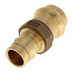 "3/4"" ProPEX x 3/4"" Copper Press Brass Adapter (Lead Free) Product Image"