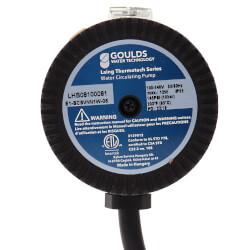 "E1-BCSNRN1W-06 E Series, Circulating Pump w/ Adjustable Thermostat & Plug (1/2"" Sweat) Product Image"