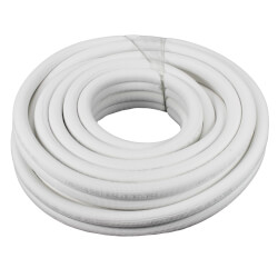 "1/4"" LL x 3/8"" SL Mini Split Refrigerant Line Set w/ Flare Nuts, 1/2"" Insulation (50 Ft.) Product Image"