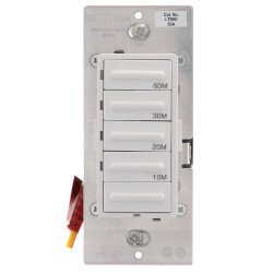 Decora 10-20-30-60 Minute Electronic Timer Switch - White, Ivory, Almond (120V) Product Image