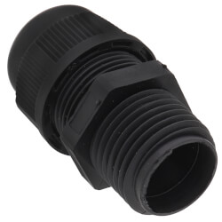 "1/2"" Liquidtight Cord Grip, Non-Metallic (Cord Range: 0.17 - 0.450) Product Image"