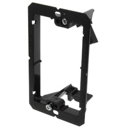 1-Gang Low Voltage Mounting Bracket (Black) Product Image
