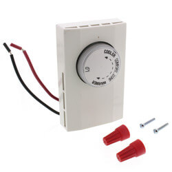Non-Prog. 1-Pole Line Volt. Heating Only Mechanical Thermostat Product Image