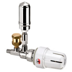 "1/8"" Threaded One-Pipe Steam Angle Valve Assembly with EVO-28 Operator Product Image"