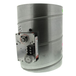 "10"" Round<br>Modulating Damper Product Image"