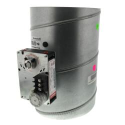 "8"" Round<br>Modulating Damper Product Image"
