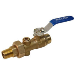 "1"" FNPT BB Union End Balancing Ball Valve Product Image"