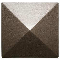"5-1/2"" Mesa Square Cleanout Cover (Beachnut Bronze) Product Image"