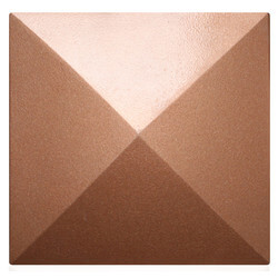 """5-1/2"""" Mesa Square Cleanout Cover (Newport Copper) Product Image"""