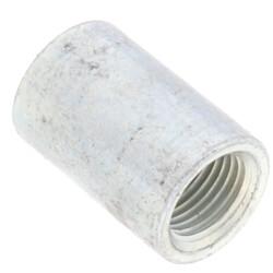 "1/8"" Galvanized Steel Merchant Coupling Product Image"