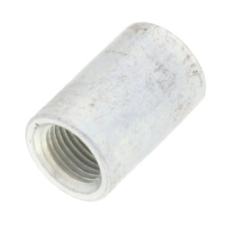 "1/8"" Galvanized Steel Merchant Coupling Product Image"