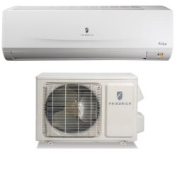 9,000 BTU Floating Air Wall Mounted Ductless AC/Heat Pump (Package) Product Image