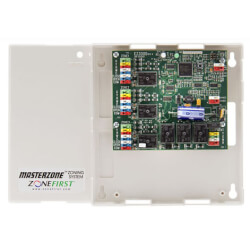 Mini-Masterzone 2 or 3 Zone Single Stage Heat/Cool Damper Actuator Control Panel Product Image