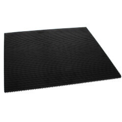 "Rubber Anti-Vibration Pad, 18"" x 18"" x 3/8"" Product Image"