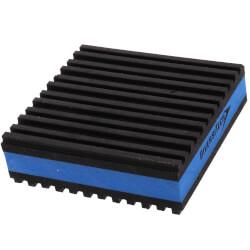 """E.V.A. Anti-Vibration Pad 3"""" x 3"""" x 7/8"""" Product Image"""