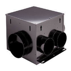 "MP100 Multi-Port Remote In-Line Ventilation Fan, 6"" Round Duct (110 CFM) Product Image"
