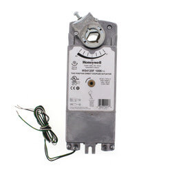 On/Off Damper Actuator<br>w/ Spring Return, 175 lb-in Fire & Smoke Applications Product Image