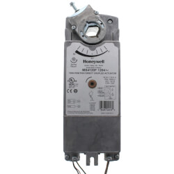 2-Position Damper Actuator w/ SR & Aux. Switches (175 lb-in) Product Image