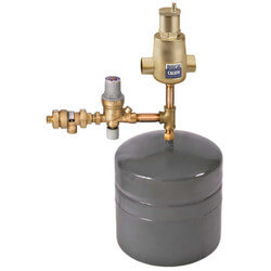 "Boiler Kit w/ Check & Backflow, 1"" Sweat Air Separator, & 4.4 Gal. Tank Product Image"
