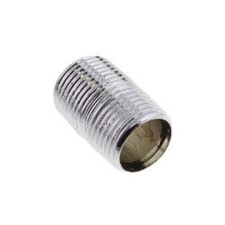 "3/8"" x Close Chrome Brass Nipple (Lead Free) Product Image"