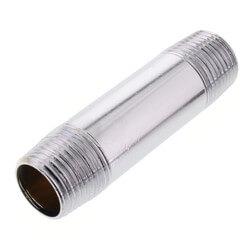 "1/2"" x 3"" Chrome Brass Nipple (Lead Free) Product Image"