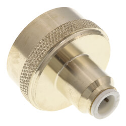 """1/4"""" x 3/4"""" Female Connector Garden Hose (Brass, Lead Free) Product Image"""