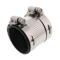 "1-1/2"" No Hub Coupling Product Image"