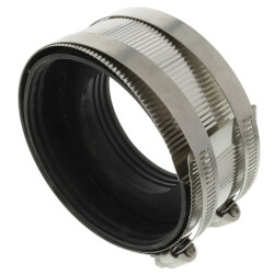 "4"" x 3"" No Hub Coupling Product Image"