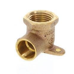 "1/2"" CxF 90° Drop Ear Elbow (Lead Free) Product Image"