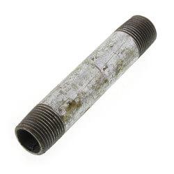 "3/8"" x 3-1/2"" Galv Nipple Product Image"