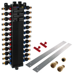 24 Port Polymer PEX Press MANABLOC Package (NPT Supply) Product Image
