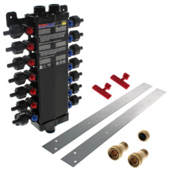 14 Port Polymer PEX Crimp MANABLOC Package (NPT Supply) Product Image