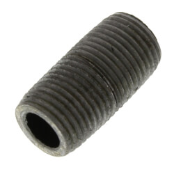 "1/8"" x Close Schedule 80 Heavy Duty Black Nipple Product Image"