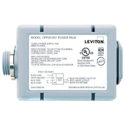 Occupancy Sensor Super Duty Power Pack Series w/ Auto & Manual ON- Gray Product Image