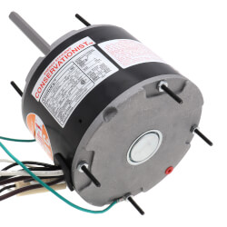 "5-5/8"" Multi-HP Motor w/ Sleeve Bearings - Deluxe (1075 RPM, 1/3, 1/6 HP) Product Image"