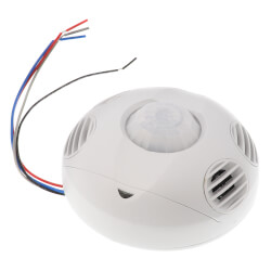 Multi-sensing 360 Degree Occupancy Sensor, Ceiling Mount, 2000 Sq. Ft. Coverage - White Product Image