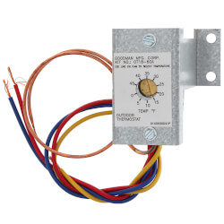 Outdoor Thermostat for Heat Pump Product Image