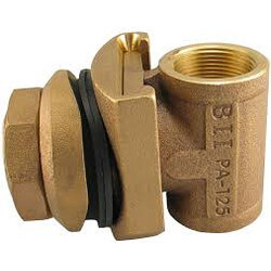 "1-1/4"" Bronze Pitless Adapter, Lead Free Product Image"
