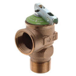 Wilkins 125 PSI<br>Relief Valve (Lead Free) Product Image