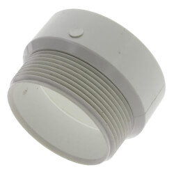 "2"" PVC DWV Female Trap Adapter (Hub x Slip) Product Image"