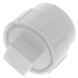 """1-1/2"""" PVC DWV Fitting Cleanout Adapter w/ Plug Product Image"""
