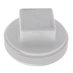 """2"""" PVC DWV<br>Cleanout Plug Product Image"""