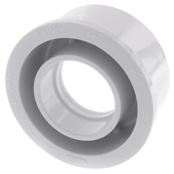 "3"" x 1-1/2"" PVC<br>DWV Bushing Product Image"
