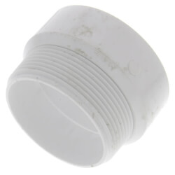 """2"""" PVC DWV Male Adapter Product Image"""