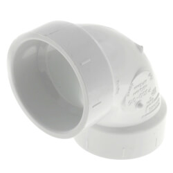"1-1/2"" PVC DWV 90° Elbow Product Image"