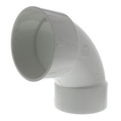 "6"" PVC DWV 90° Elbow Product Image"