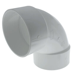 "8"" PVC DWV 90° Elbow Product Image"