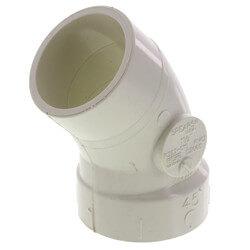 "1-1/2"" PVC DWV<br>45° Street Elbow Product Image"
