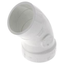"2"" PVC DWV<br>45° Street Elbow Product Image"